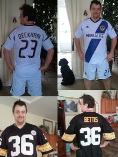 Showing off my jerseys of my favorite two players. My dream of playing  soccer again has come true. 9e9380b7d