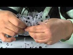 Tip of the Day: Flocked Velvet Tulle from Mon Ami Gabby - Scrapbook EXPO