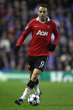 Dimitar Berbatov of Man Utd in 2011.