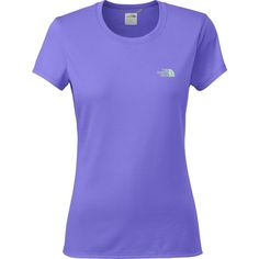 The North Face Reaxion Amp T-Shirt ($15) ❤ liked on Polyvore featuring activewear, activewear tops and the north face