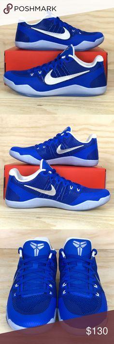 Nike Kobe XI TB Promo Blue White Basketball Shoes 😁Brand New - Never Worn - a2a025ba5c10b