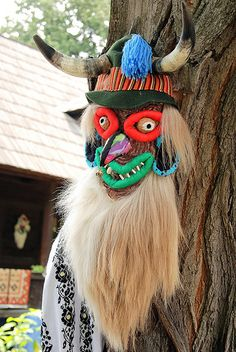 romanian mask Turban, Beautiful Costumes, Masquerade Ball, Headgear, Traditional Outfits, Art Direction, Art For Kids, Captain Hat, Art Gallery