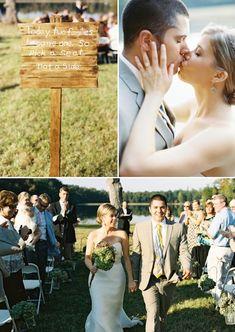 family style wedding ceremony