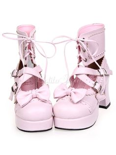 c5cb6b5cf85 Custom Made Pinky Baby Doll Platform Shoes SP168134