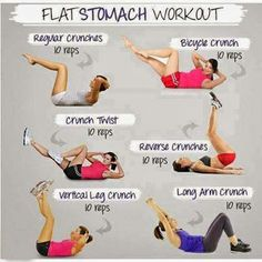 Tips for Flat Stomach