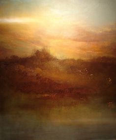 """Saatchi Online Artist: Maurice Sapiro; Oil, 2011, Painting """"Day's End, Land's End"""""""