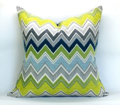 Zenyatta Mondatta pillow cover in Peacock 20 x 20 by sparkmodern Teal Couch, Green Sofa, Teal And Grey, Grey Yellow, Gray, Dark Teal, Living Room White, New Living Room, White Bedroom