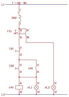 single phase motor control wiring diagram electrical engineering rh pinterest com