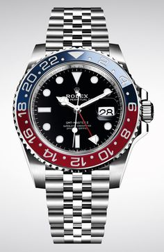 029d6b65f7f La Cote des Montres   La montre Rolex GMT–MASTER II - Une montre idéale  pour arpenter le monde