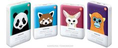 Battery packs animal edition