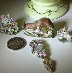 Miniature Clocks 1/12......by Anne