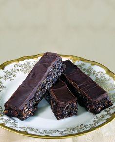 Peanut Butter Chocolate Bars Recipe - Levana Cooks
