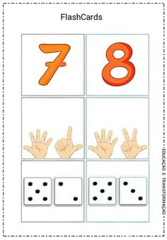 Числата от 1 до 10 в картинки, които можете да разпечатате и оцветите: Preschool Writing, Numbers Preschool, Math Numbers, Preschool Classroom, Preschool Learning, Kindergarten Math, Nursery Worksheets, Kids Math Worksheets, Special Education Math
