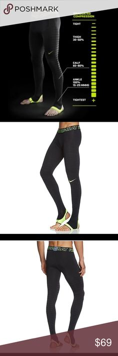 ✨HP 3/10/18✨ Nike Pro Combat Recovery Tights NWT. In a box. Size XL and 3XL.  For decades, athletes have used ice baths, compression wraps and muscle ointments to recover from workouts. The ongoing grind of training lasts 365 days a year for top athletes.  These Nike tights have compression that helps reduce swelling, which aid muscle recovery. The amount of compression provided by the power grid pattern creates a smooth transition down the leg, with compression firmest at the ankle, where…
