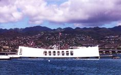 Arizona Memorial, Pearl Harbour, Oahu, Hawaii, USA