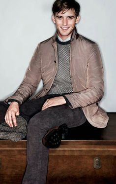 RJ King for Canali AW12 Rj King, Dress For Success, Dapper, You And I, Hipster, Guys, Dresses, Style, Fashion
