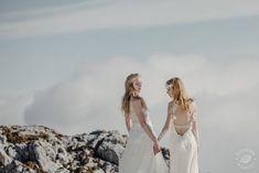 Peak of Romance Pinewood Weddings Industrial Wedding, Landscapes, Romance, Gowns, Weddings, Wedding Dresses, Style, Paisajes, Romance Film