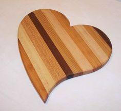 Handmade cutting boards by Pennington's Cutting Boards.  479-531-8398