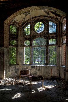 Beelitz Heilstätten, an abandoned military hospital in Berlin.