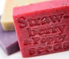 STRAWBERRY PATCH SOAP RECIPE, love this scent! Get a recipe for this scented bar at this professional soap site. Plus lots more! #naturalsoaprecipes