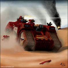 Warhammer: Blood Ravens by mikkow.deviantart.com on @deviantART
