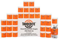 305ebd438b7 Tannerite Pro Pack 30 1 4-lb binary exploding explosive rifle targets