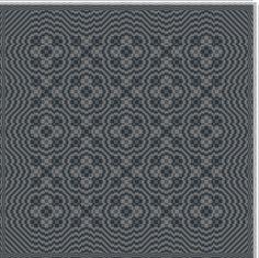 Hand Weaving Draft: exemple, my own original pattern, 4S, 6T - Handweaving.net Hand Weaving and Draft Archive