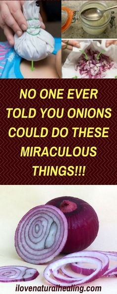 Onions have been used as a natural cure for many different ailments. They can cure vomiting and boost the immune system because of its antibiotic properties. This is all due to its antiseptic and antibiotic properties, as well as it sulfur content. It is an amazing source of Querection, an antioxidant that assists the body fight free radicals.