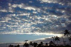 Early morning sky in Kapaa, Kauai, HI