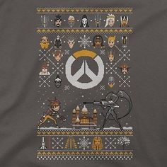 Overwatch players - We've got your ugly sweater pub crawl tee right here. Link in bio. Pub Crawl, Gamer Gifts, Ugly Sweater, Birthday Presents, Overwatch, Cool Gifts, Videogames, Gaming, Link