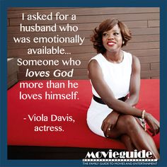 Viola Davis prayed this and met her now-husband just 3 weeks later!! Power of prayer!