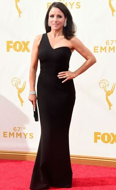 Julia Louis-Dreyfus in Safiyaa at the 2015 Emmys