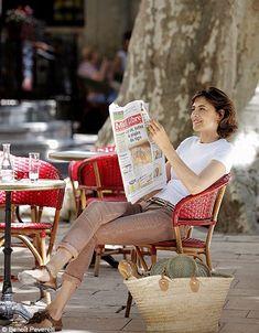Ines de la Fressange, party de campagne Mode tendance look ines de la fressange p86