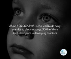 Developing countries contribute less to the ‪#‎climatechange‬ but suffer more.