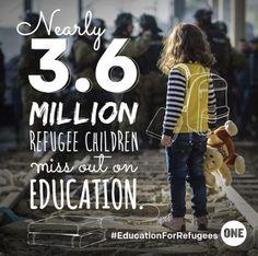 #EducationforRefugees