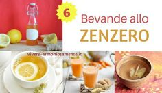 6 Bevande allo Zenzero Antinfiammatorie e Digestive