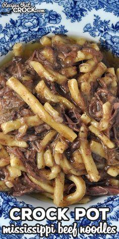 Beef Tip Recipes, Crockpot Dessert Recipes, Crock Pot Desserts, Crockpot Dishes, Quick Dinner Recipes, Roast Recipes, Beef Dishes, Crockpot Meals, Beef And Noodles Crockpot