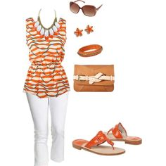 Clemson Gameday Look - Put some Spring into your step, created by clemson-girl