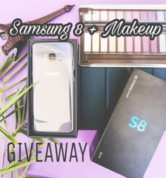 """INTERNATIONAL GIVEAWAY  Where are the SAMSUNG LOVERS ???  We want to reward you with this latest model SAMSUNG GALAXY S8  Makeup   To participate:  1: FOLLOW ME.  2: """"LIKE"""" this photo.  3: GO TO @simplementeivy and follow.  4: Look at the instructions and repeat steps 123 until you have arrived back here. When you finish the loop leave a comment telling us where you are from. If you want to make your participation count double tag 3 friends in the comment section If you want a SUPER BONUS…"""
