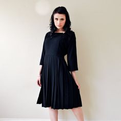 Wool-dress for the winter