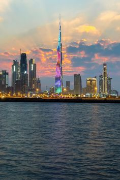 Dubai City, Dubai Uae, Architecture Photo, Amazing Architecture, Dubai Travel, City Landscape, Night City, Most Beautiful Cities, City Art