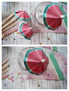 Wassermelonen Deko