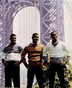 60's Models (Young Billy D. Williams on the left)