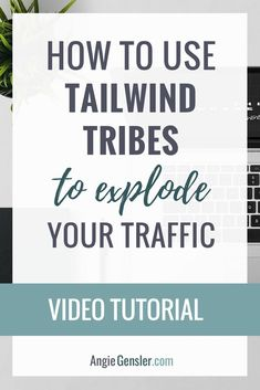Video training on how to use Tailwind Tribes to explode your website traffic. Tribes is a free tool, quick to use, and drives traffic! via /angiegensler/