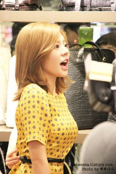 Sunny ♡ Girls Generation.  They're adorable, but I don't watch much of them tbh.