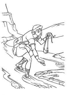 Day 1 Samuel Anoints David coloring page with memory verse