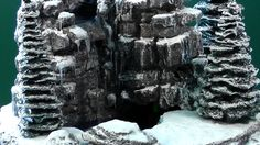 How to build a Winter Waterfall