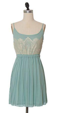 sea foam lace at http://www.chloelovescharlie.com/shop/525/dresses/Sea_Foam_Lace_Trim_Dress