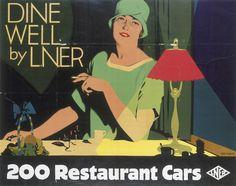 Tom Purvis travel vintage poster