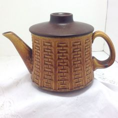 Ceramano Teapot West German Pottery  Mid Century by boomerville, $20.00
